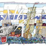 Hafengeburtstagseinlaufparade